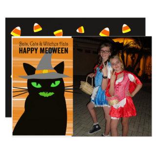 Meoween Halloween fotokort 12,7 X 17,8 Cm Inbjudningskort