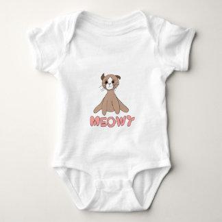 Meowy bebist-skjorta t-shirt