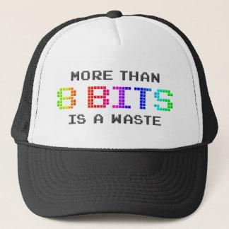 Mer än 8 bitar är en avfalls keps