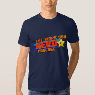 Mer dig Nerdlogotyp Tee Shirt