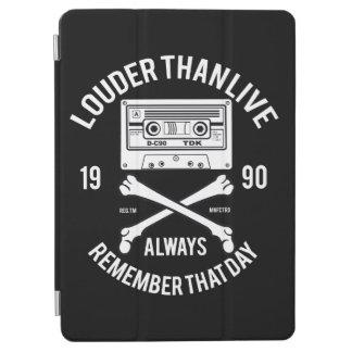 Mer hög än liv minns alltid den dag  Music iPad Air Skydd