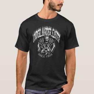 Mer hög mer hård snabbare T-tröja T-shirt