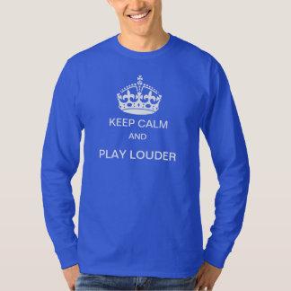 Mer hög t-skjorta för för behållalugn och lek tshirts