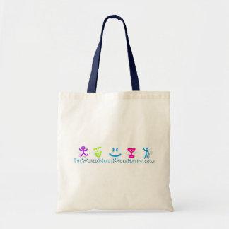 Mer lycklig Eco-vänskapsmatch shopping bag Tygkasse