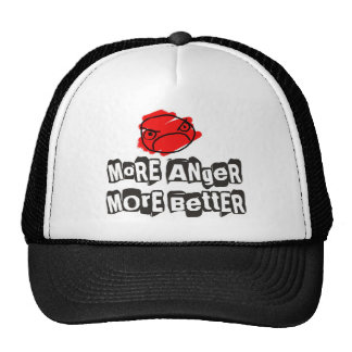 Mer mer bättre hatt för ilska mesh kepsar