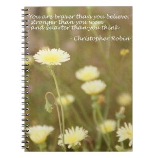 Mer modig än dig tro. - Anteckningsbok