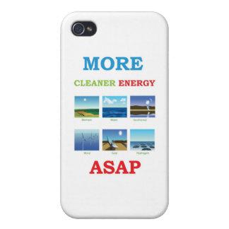 mer ren energi asap iPhone 4 fodral