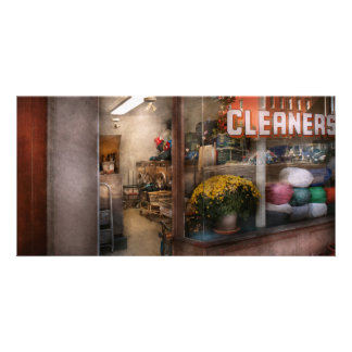 Mer rena - NY - Chelsea - rengöringsmedlen Hälsningskort Med Foto