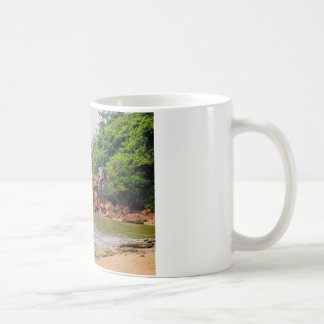 mer röd stenar av fiji kaffemugg