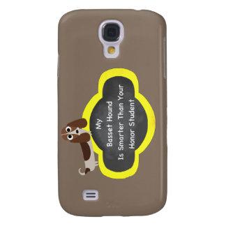Mer smart Bassetthund Galaxy S4 Fodral