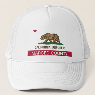 Merced County Kalifornien Truckerkeps