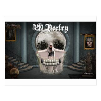 Merchandise för poesi 3D Vykort