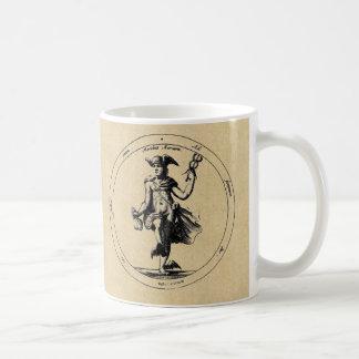 Mercury-/Luna sepiakaffe koppar