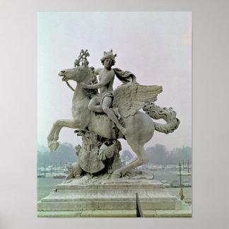 Mercury på Pegasus 1701-02 Poster
