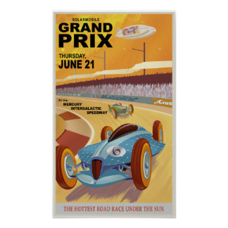 Mercurygrand prix poster