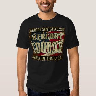 Mercurypuma - klassikerbil som byggas i USA Tshirts