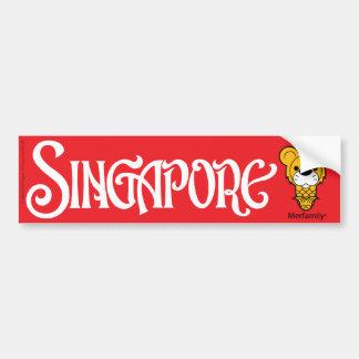 Merfamily® SINGAPORE bildekal II