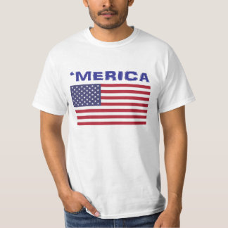 'MERICA. Amerikanpride. Tee