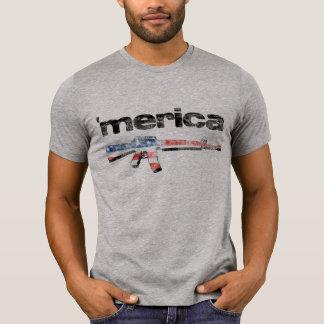 Merica bedrövade gevärskjortan tröja