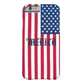 'MERICA-flagga Barely There iPhone 6 Fodral