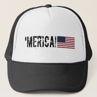 'Merica USA flaggahatt Keps