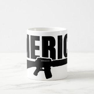 'MERICA-vapenmugg Kaffemugg