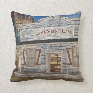 Merkantil MoJo för gammala västern dekorativ kudde