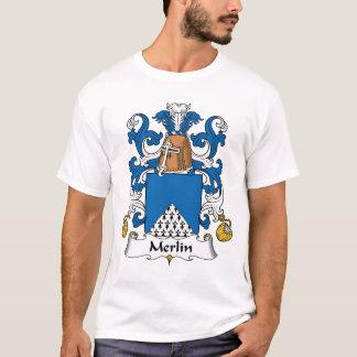 Merlin familjvapensköld tshirts