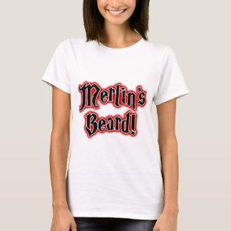 Merlins skägg - magi, trollkarl, trollkarl t-shirts