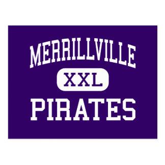 Merrillville - pirater - kick - Merrillville Vykort