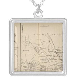 Merrimack Litchfield, Wilton, Peterborough PO Silverpläterat Halsband