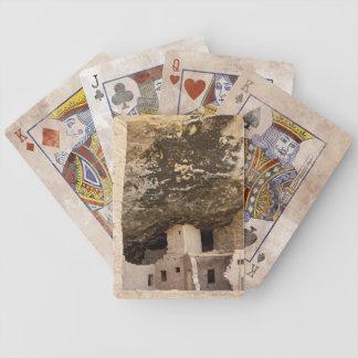 Mesa Verde som leker kort Spelkort