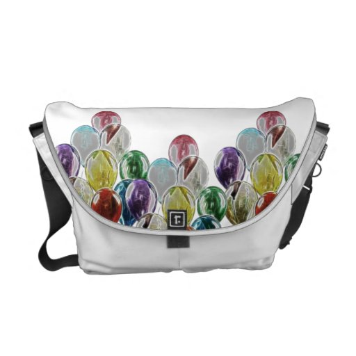 Messenger bag för ballongbukettFractal