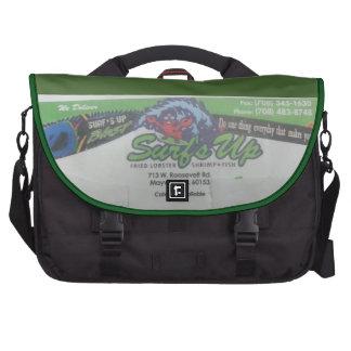 Messenger bag för bärbar dator för havsmatpendlare data väskor