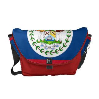 Messenger bag för Belize flaggaRickshaw