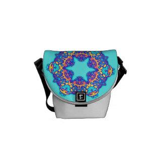 Messenger bag för Carnaval Calavera Rickshawkortko
