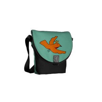 Messenger bag för drottningfågelRickshaw