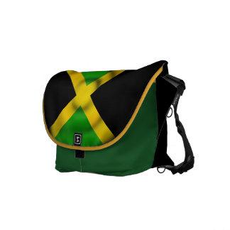 Messenger bag för Jamaica flaggaRickshaw