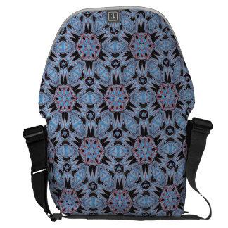 Messenger bag för Kaleidoscope för grått för