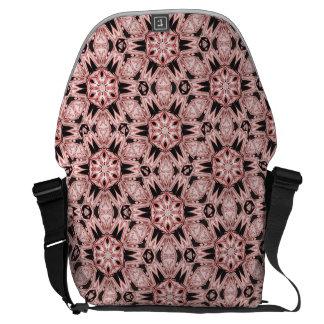 Messenger bag för korall för Kaleidoscope för Boho