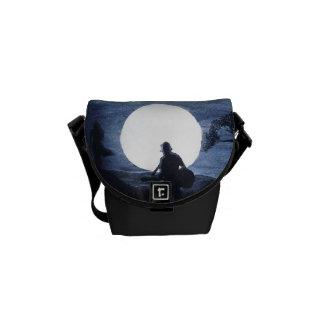 """Messenger bag """"för månbelyst Serenade"""""""