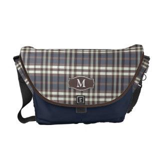Messenger bag för plädMonogramRickshaw (marinen)