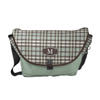 Messenger bag för plädMonogramRickshaw (minten)