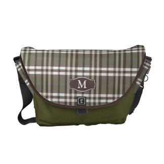 Messenger bag för plädMonogramRickshaw oliv