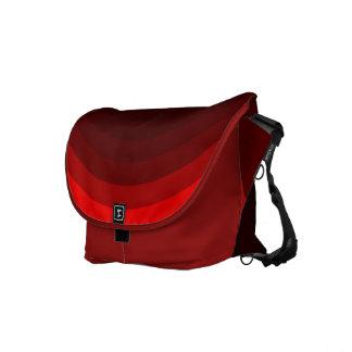 """Messenger bag """"för röd läppstift"""""""