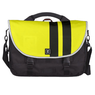 Messenger bag för ShelbyCobra svartgult Bags För Laptop