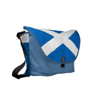 Messenger bag för Skottland flaggaRickshaw