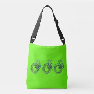 Messenger bag för toto för kärlekhjärtaPortland Axelväska
