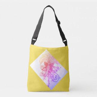 Messenger bag för toto för soluppgångregnbågeOmbre Axelväska
