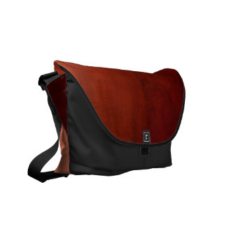 Messenger bag: Mahognyträ Messenger Bag